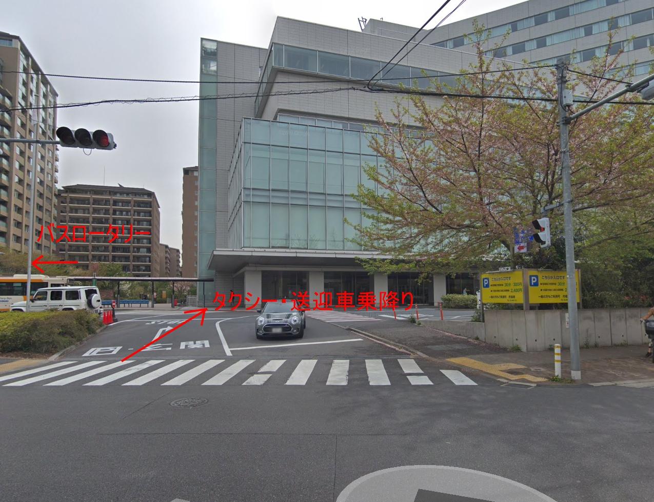 日赤 広尾 駐車場